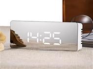 Despertador Digital com Relógio, Termómetro e Espelho. PORTES INCLUÍDOS.