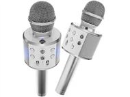 Microfone Bluetooth com Coluna. Ideal para Karaoke. PORTES INCLUÍDOS.