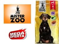 Ração Seca para Cães Adultos – Saco Mister Zoo de 4 Kg. PORTES INCLUÍDOS.