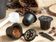 3 Cápsulas de Café Reutilizáveis para Máquinas de Café Nespresso mais Acessórios. PORTES INCLUÍDOS.