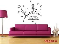 PRINCIPEZINHO-I em Vinil Autocolante Adesivo Decorativo com 4 Imagens à Escolha