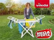 Estendal Solar da VILEDA. Ideal para Uso Exterior. Permite estender até 20 m de roupa.