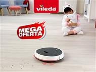 MEGA OFERTA: Robot Aspirador VR102 da VILEDA. VER VIDEO. PORTES INCLUIDOS.