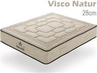 Colchão Viscoelástico VISCO NATUR de Casal ou Solteiro com 28cm de Altura e Núcleo HR