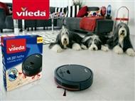 Robot Aspirador VR201 PetPro da VILEDA com Carregador Automático. VER VIDEO.