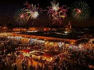 RÉVEILLON 2022 - MARRAQUEXE: 3 Noites em Marrocos com Tudo Incluído, Voo de Lisboa e Porto.