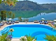 Estalagem Lago Azul 4*: Estadia com Pequeno-almoço e Cruzeiro com almoço a Bordo.