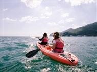 Actividades na Natureza: CANOAGEM na Linha Costeira da Serra da Arrábida para 1,2 ou 4 Pessoas