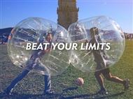 BUBBLE FOOTBALL até 10 PESSOAS em Lisboa ou Porto - O Jogo que te vai Fazer Cair para o Lado.