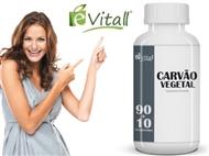 Carvão Vegetal 90 + 10 Comprimidos é-Vitall. PORTES INCLUÍDOS.