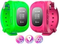 SmartWatch GPS Kids Verde ou Rosa. Relógio, Telefone e Localizador com Botão SOS.