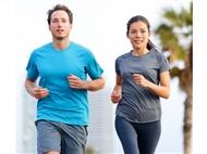 Jogging pela sua saúde! Podíamos falar em correr, mas o jogging é uma atividade física específica e