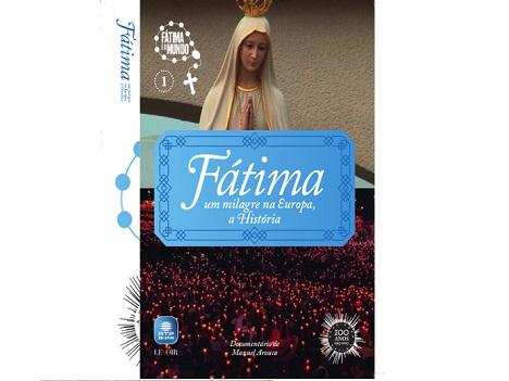 Oferta de DVD sobre Fátima em exclusivo para assinantes CM+.