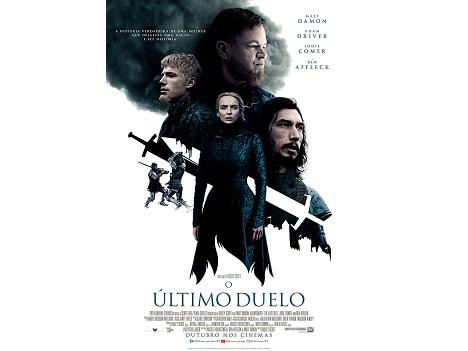 """Tem saudades de ir ao cinema? O CM+ dá convites para """"O Último Duelo""""."""