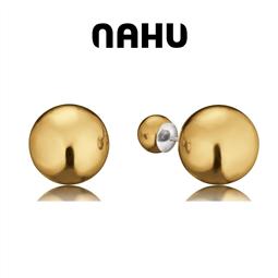 NAHU - Brincos Nahu® Nae Moscow Gold