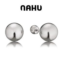 NAHU - Brincos Nahu® Nae Moscow Prata