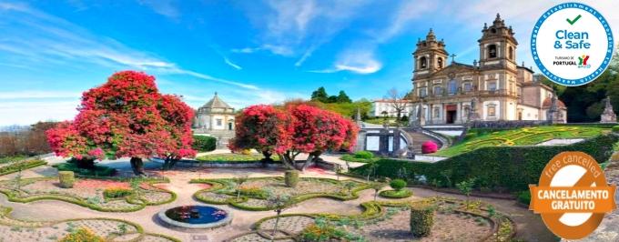 Hotel do Lago 3*: Estadia em clima de Romance em Braga com Welcome Drink. Renove os Laços e Seja Feliz!