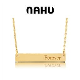 NAHU - Colar Nahu Prata 925®NAN-BAR-GV-G