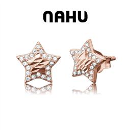 NAHU - Brincos Nahu Prata 925® Nae Vienna R