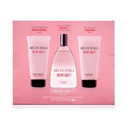 Conjunto de Perfume Mulher Oh My God Aire Sevilla (3 pcs) por 26.40€ PORTES INCLUÍDOS