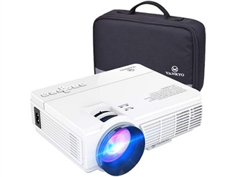 Mini Projetor HD com 2400 Lumens, Comando e Mala por 134€. Cinema em Casa. VER VIDEO. PORTES INCLUIDOS.