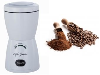 Moedor de Café Elétrico com Temporizador, Capacidade para Moer até 80g e 2 Cores à escolha por 29.50€. Rápido e Fácil. PORTES INCLUÍDOS!