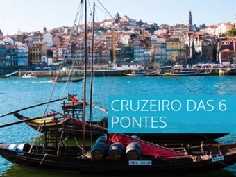 Cruzeiro das 6 Pontes num Barco Rabelo em Passeio no Douro para 2 Pessoas por 22€. Visite um dos Melhores Destinos Europeus.