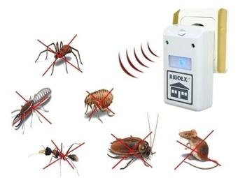 Repelente Elétrico desde 8€. Afasta qualquer inseto ou roedor. PORTES INCLUÍDOS.