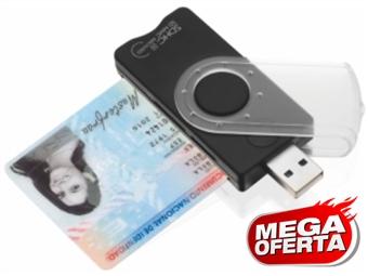 MEGA OFERTA: Leitor USB Portátil do Cartão do Cidadão e Cartões de Memória desde 14€. PORTES INCLUIDOS.