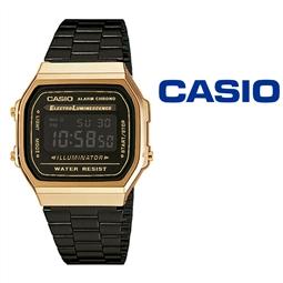 Relógio Casio® A168WEGB-1BEF por 73.26€ PORTES INCLUÍDOS