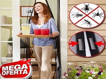 MEGA OFERTA: 1 ou 2 Caixas de Cortinas Magnéticas Anti-Insectos desde 9.50€. A solução que procurava para a sua casa. PORTES INCLUÍDOS.