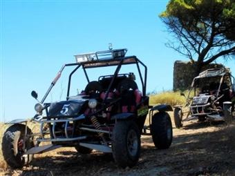 KARTCROSS: Passeio de 25 km para 2 Pessoas na Serra da Arrábida por 107€ - VER VÍDEO. Passe um Dia de Aventura!